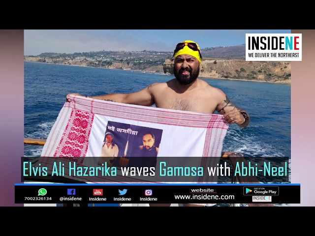 Assam's Elvis Waves Gamosa with Abhi-Neel, Becomes First in US to Cross Catalin