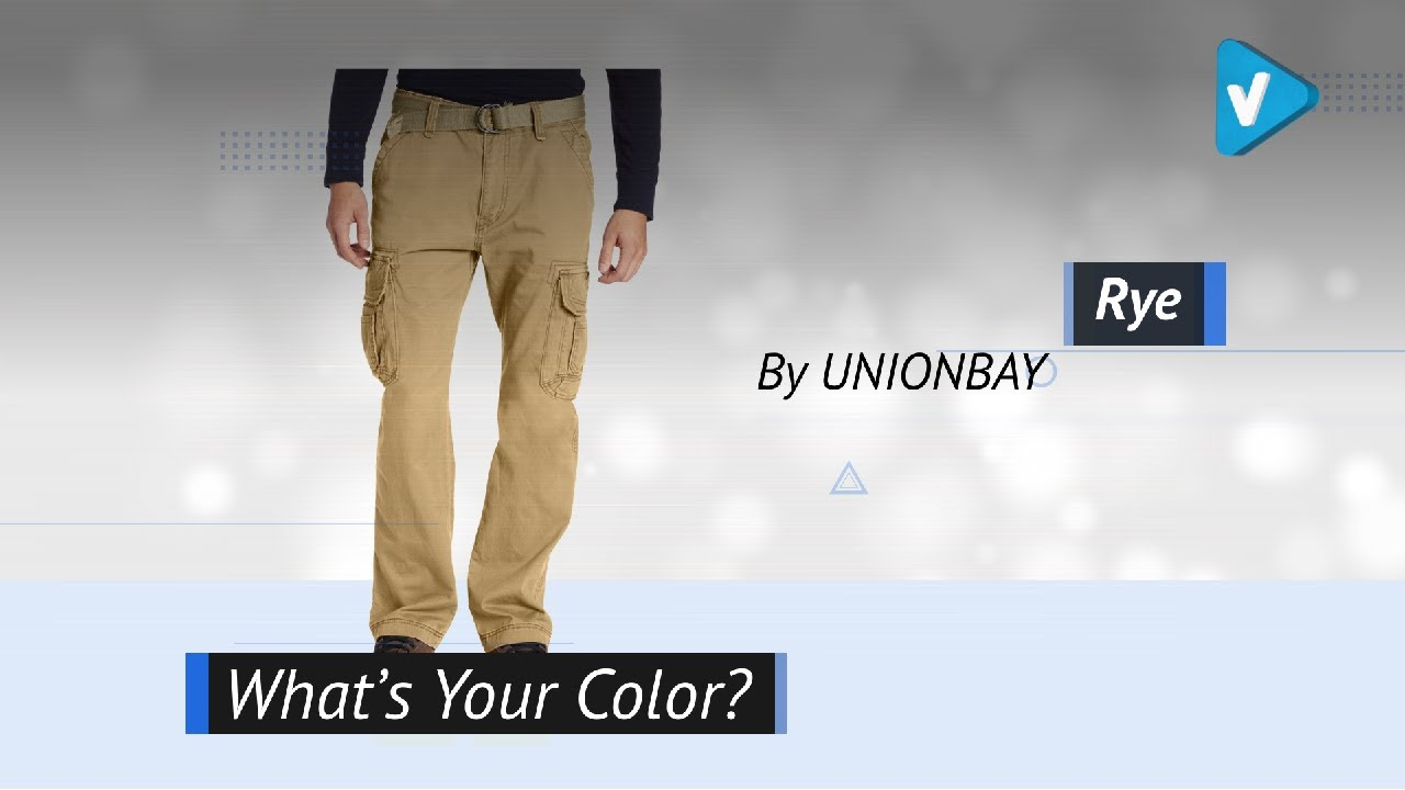 54caa22774 Utilitarian Style Updates - UNIONBAY Men's Survivor Iv Relaxed Fit Cargo  Pant