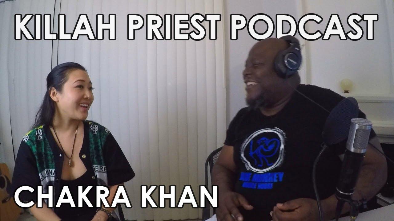 Killah Priest Podcast 1 Chakra Khan Youtube