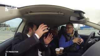 Тест драйв автомобиля Tesla S в Москве