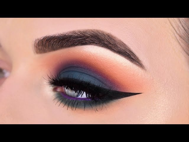 Teal Colorful Smokey Eye Makeup Tutorial | Sigma X beautyybird Dream Palette
