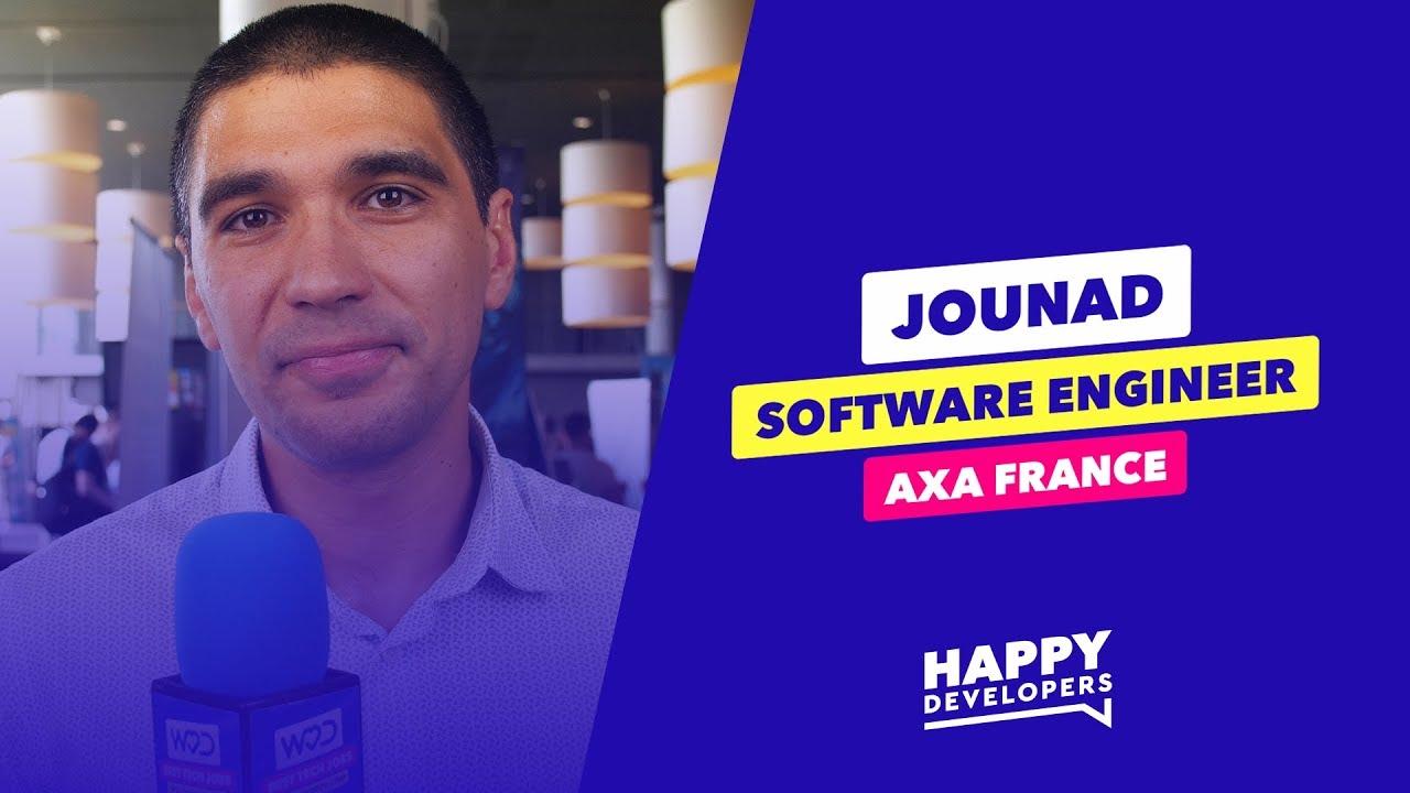 Happy Developers - DevFest Lille - Jounad de AXA France