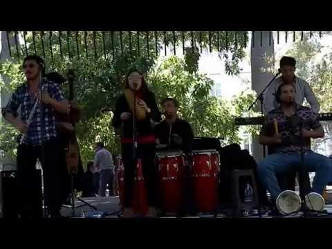Chilean Musicians at Plaza de Armas Santiago Chile