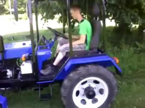 Трактор ЮМЗ Оранка GoPro - YouTube