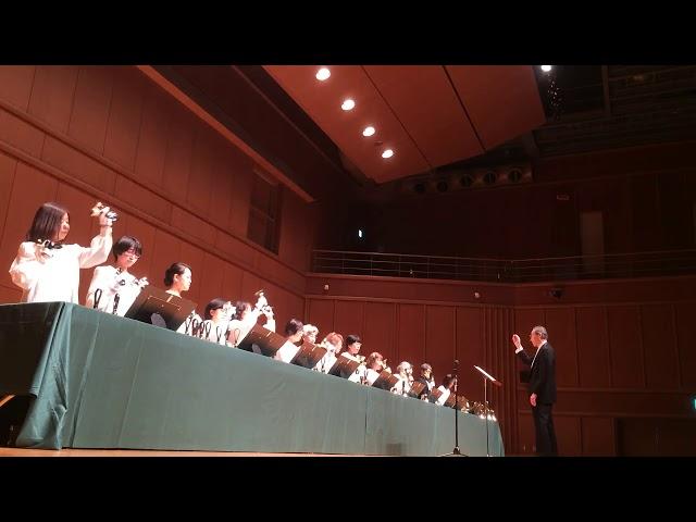 ハンドベル Silent Night, Kobe YMCA Bell-choir (Dir. Nozomu Abe) 2017 Dec