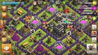 Clash of clans Royal Kings clan war log