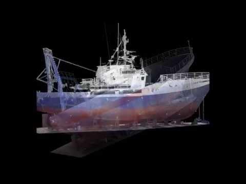 Ship 3D Laser Scanning
