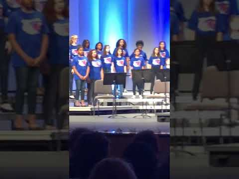 UNF chorale program Jacksonville Sings Paper Crain Mandarin middle school