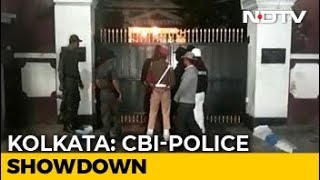 CBI-Police Showdown In Kolkata Over Top Cop's Questioning