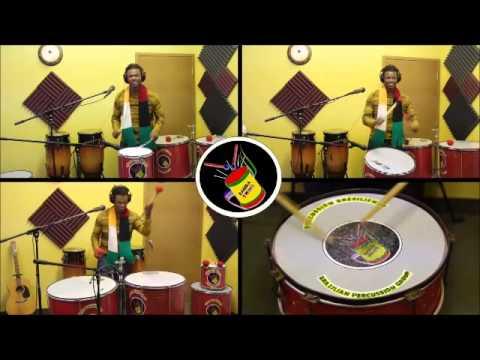 Samba-reggae percussion tutorial with Cayo Santana