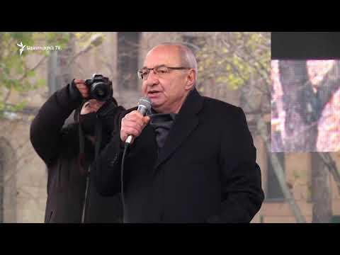 Կոչ եմ անում բանակին և ոստիկանությանը՝ անհապաղ հայտարարությամբ միացեք ժողովրդին. Վազգեն Մանուկյան