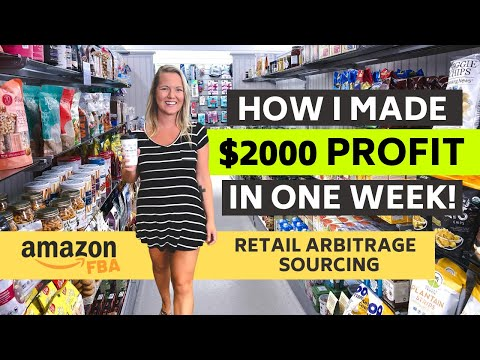 $2000 Profit in One Week Selling On Amazon with Retail Arbitrage