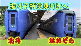 【検証】どっちが揺れる?おおぞらVS北斗・振り子特急乗り比べ HOKKAIDO LOVE!