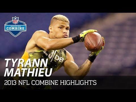 Tryann Mathieu (LSU, DB) | 2013 NFL Combine Highlights