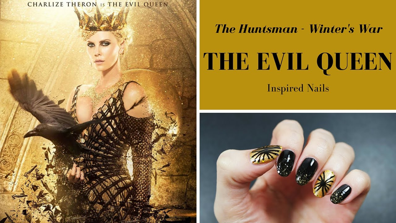 THE EVIL QUEEN - The Huntsman Winter\'s War Inspired Nails {3/3 ...