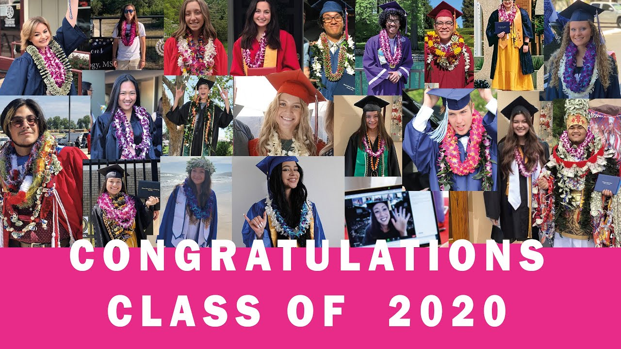 Congratulations Class Of 2020 | Graduation Leis
