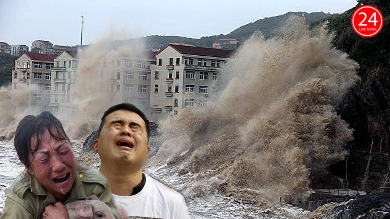 Lũ Lụt Trung Quốc 26 8 Sieu Bao Mới Sắp Nhấn Chim Trung Quốc Lũ Lụt Kinh Hoang Tới Thang 9 Youtube