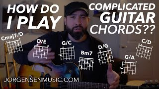 Guitar Lesson - Beyond Basic Chords + How to Play Complex Chords + Music Theory