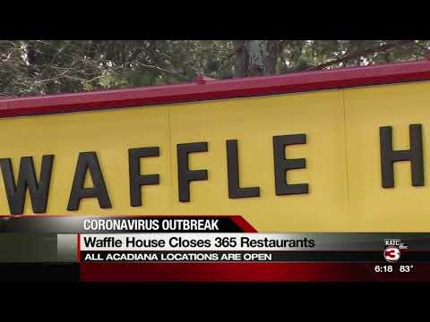 Waffle House closing restaurants
