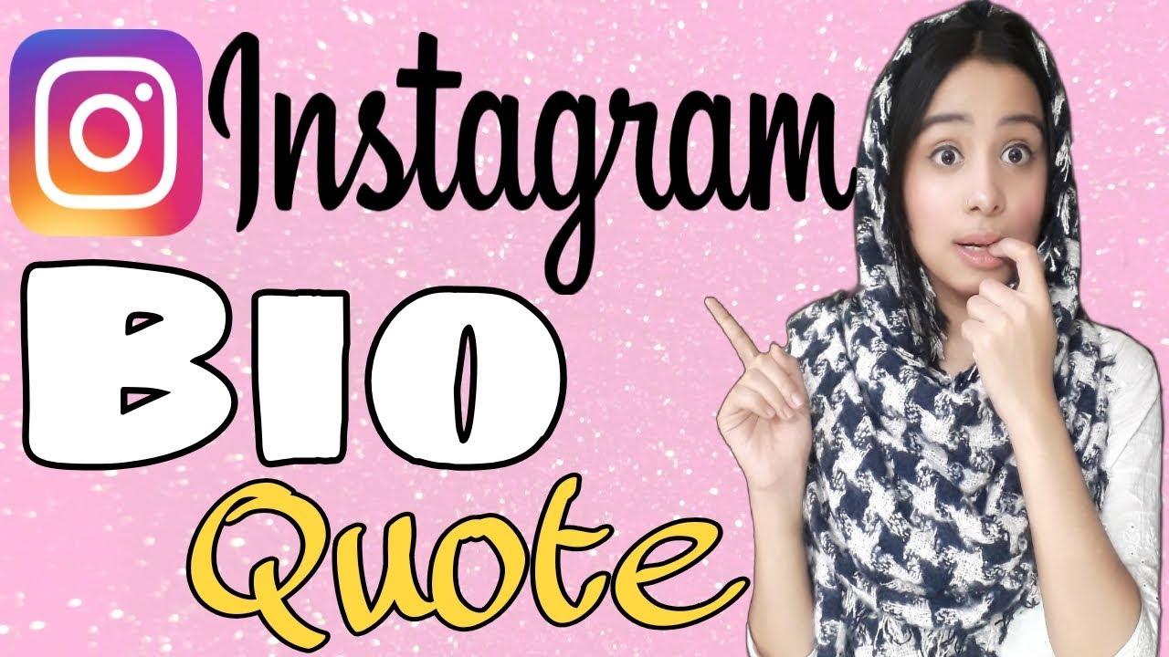 2020 Instagram Bio Quotes Top 10 Bio Quotes For Instagram Instagram Hacks Youtube