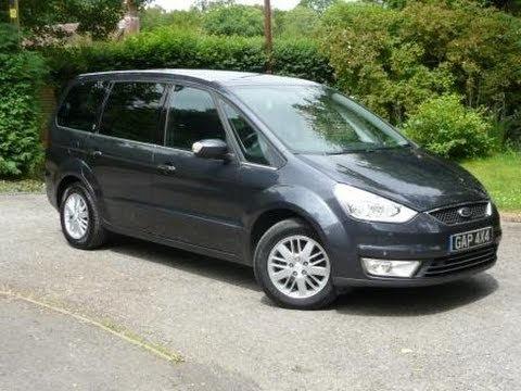 2006 06 grey ford galaxy ghia 1 8 tdci with panoramic roof. Black Bedroom Furniture Sets. Home Design Ideas