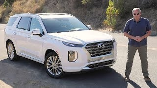 2020 Hyundai Palisade Test Drive Video Review