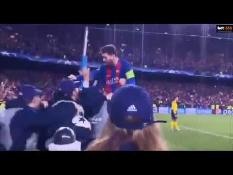 Messi Celebration Vs Psg Youtube