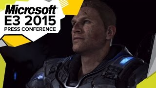 Gears of War 4 World Premiere Gameplay Demo - E3 2015 Microsoft Press Conference