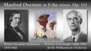 Robert Alexander Schumann (1810-1856) Manfred Overture in E-flat mi...