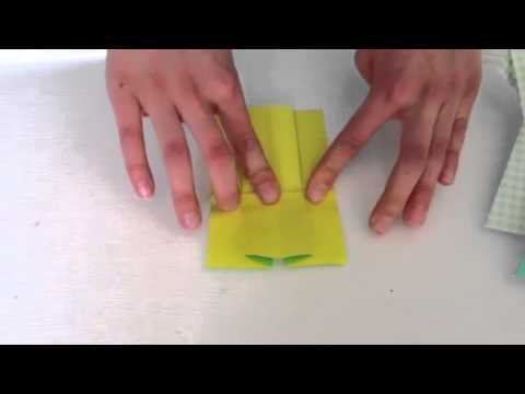 how to fold an origami dress youtube