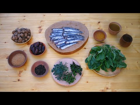 Salted Fish With Arugula Sauce - Ancient Roman Recipe