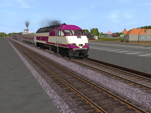 TS MBTA MP36PH-3C Cab Ride! | Operating on the Western Haverhill Route!!
