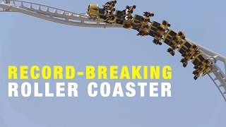 Flying Aces POV – The record-breaking roller coaster at Ferrari World Abu Dhabi