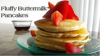 Fluffy Buttermilk* Pancakes | Vegan | Korenn Rachelle