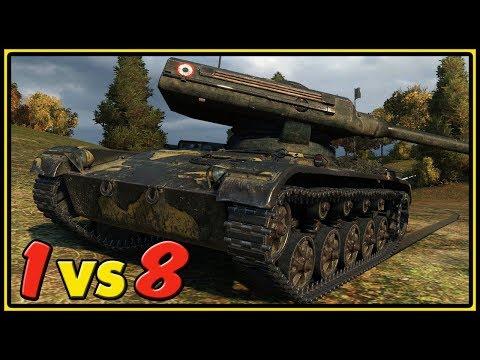ELC EVEN 90 - 1 vs 8 - 11 Kills - World of Tanks Gameplay