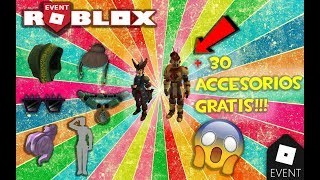 Roblox: FREE +30 New Accessories + Halloween Promo Code!