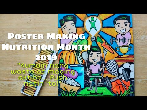 poster making nutrition month 2019 philippines