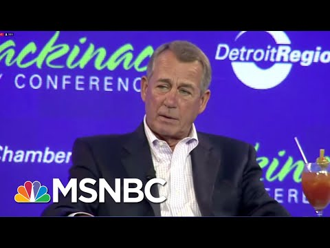 John Boehner: 'There Is No Republican Party. There's A President Trump Party' | Hardball | MSNBC