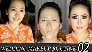 WMR02 Makeup Pengantin   Wedding Makeup Routine By ARI IZAM izam 検索動画 28
