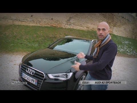 Essai Audi A3 Sportback - Focus 2013
