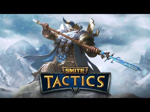 видео: smite tactics ru Русский [1] Первый взгляд на игру.