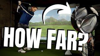 HOW FAR DOES A MID HANDICAP GOLFER HIT HIS NEW CLUBS?