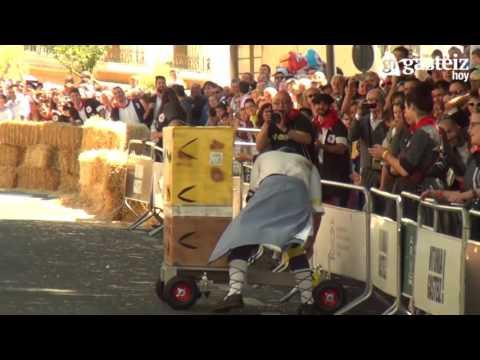 Descenso de Goitiberas en Vitoria-Gasteiz 2016. Organizado por Los Alegríos