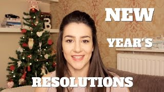 NEW YEAR'S RESOLUTIONS - 2015