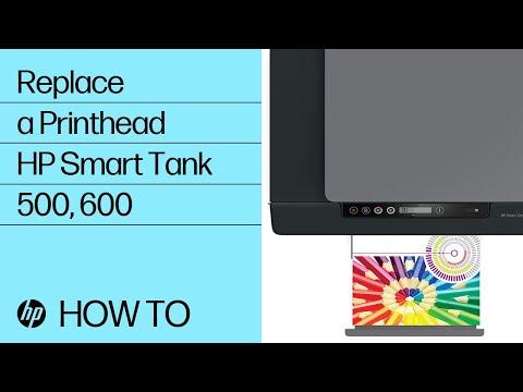 Replace a Printhead | HP Smart Tank 500 and 600 Printer Series | HP