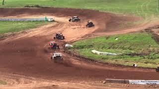 Bark river mi pro mod utv racing #40