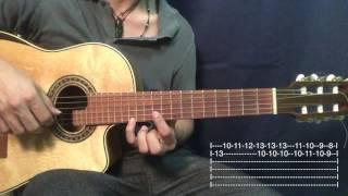 Besame Mucho - Los Panchos Tutorial/Cover Guitarra Requinto