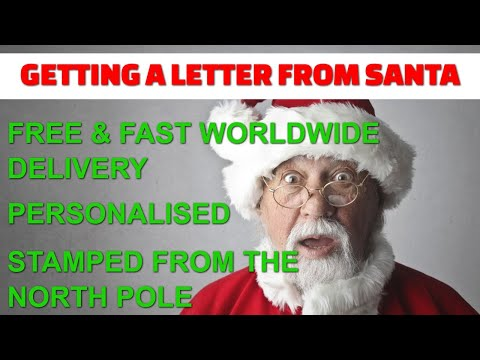 Getting A Letter From Santa thumbnail