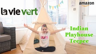 LAVIEVERT TEEPEE INDIAN TENT PLAYHOUSE REVIEW