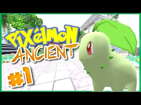 PIXELMON 3.5.1 ANCIENT SERVER  Episode 1 ► Starting off stro